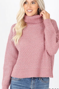 GiG Perfect Turtleneck - Lt Rose