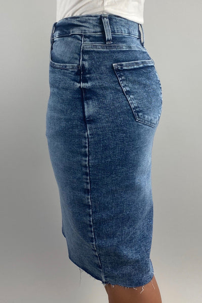 Qynn Denim Skirt