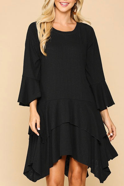 Charlee Tunic - Black