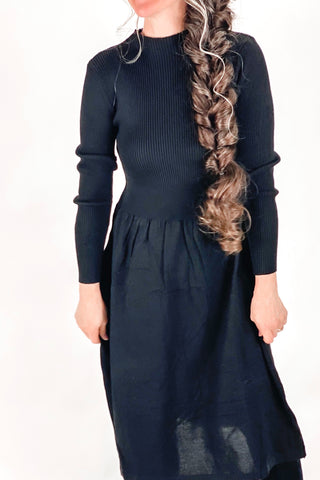 Fit 'n Flare Sweater Dress