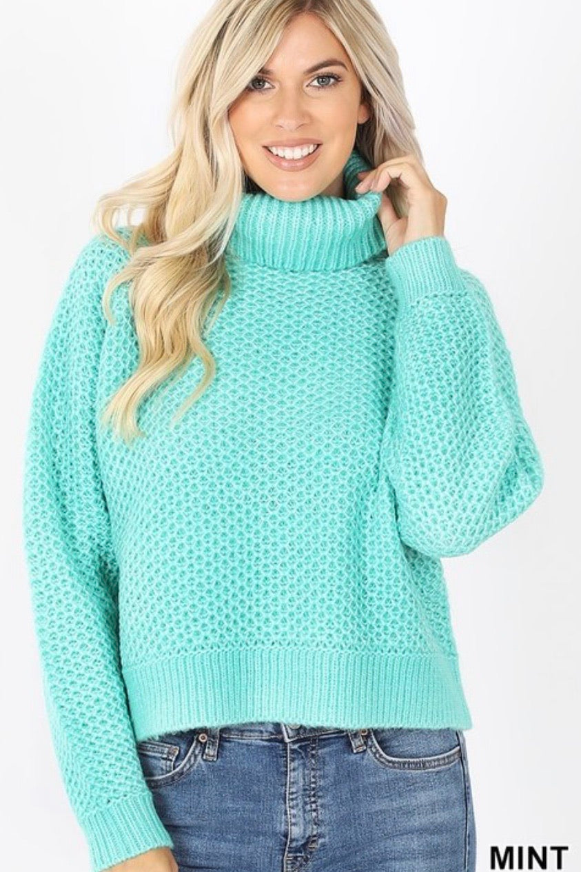 GiG Perfect Turtleneck - Mint