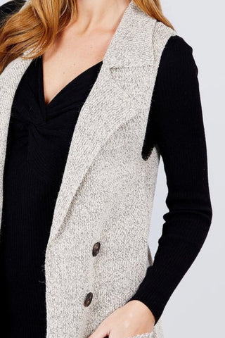 Perfect Sweater Vest (Oatmeal)