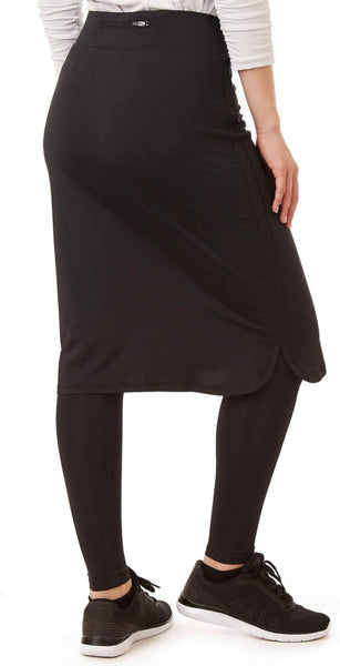 Long ShirtTail Snoga - Black