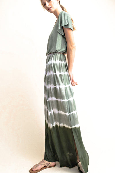 Shiann Beach Dress - Green