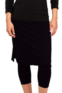 Snoga - Cropped ShirtTail Black