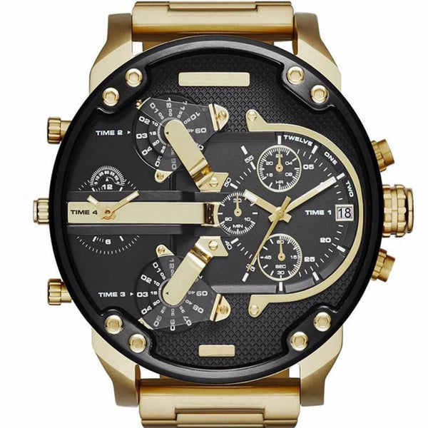 9717ef2696b This Gold Plated watch is an absolute must have for this Christmas. Treat  yourself or someone else to this masterpiece