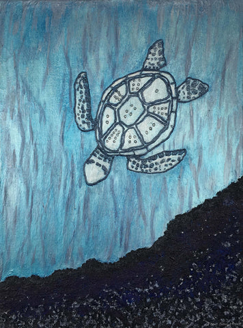 La Tortue - Canvas