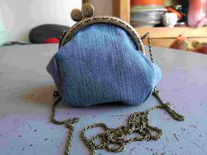 Sac Loli sac bourse upcycling