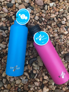 Steely High Performance Sport 660ml Water Bottle