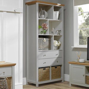Cotswold Bookcase Grey