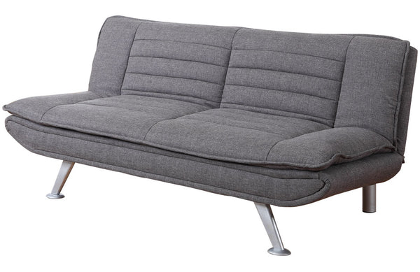 Denver Sofa Bed Grey- glenwood-furnishings