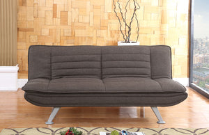 Denver Sofa Bed Brown- glenwood-furnishings