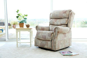 Lincoln lift and rise recliner Autumn Mosaic