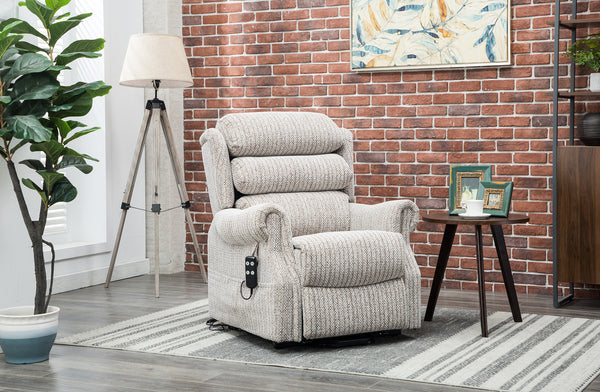 Lincoln lift and rise recliner Wheat fabric