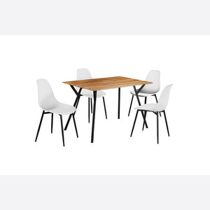 Lisbon Dining Set - White