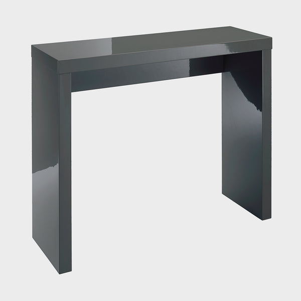 Puro charcoal console table
