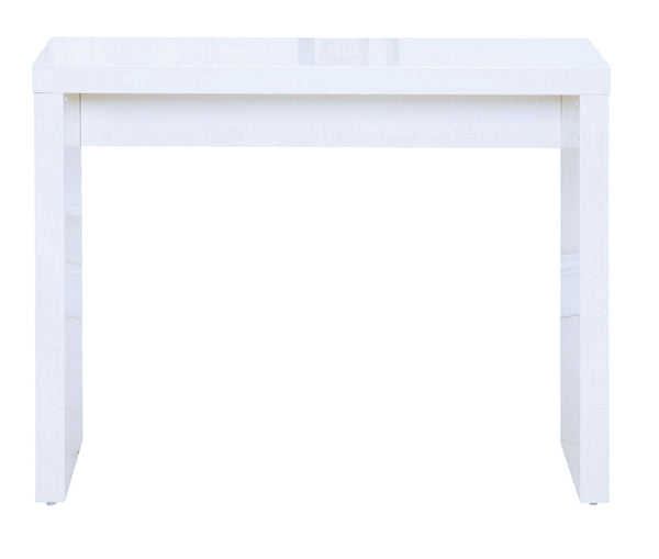 Puro white console table