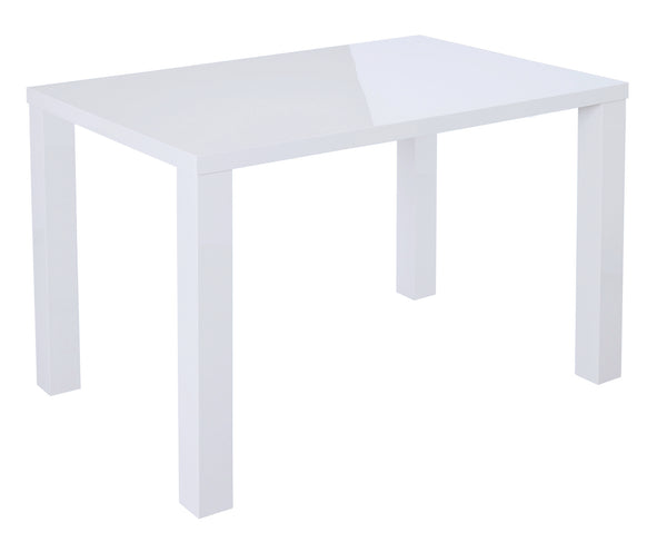 Puro white medium dining table