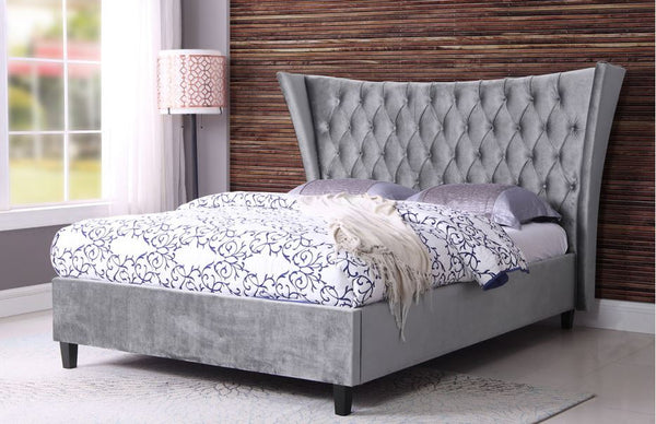 Parker fabric bed room scene- glenwood-furnishings