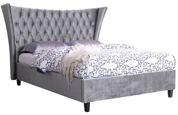 Parker fabric bed- glenwood-furnishings