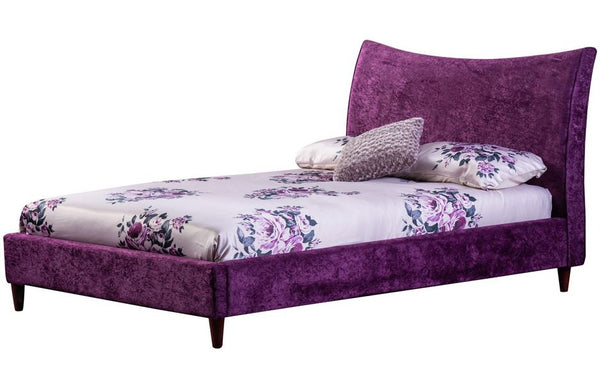 Poppy fabric bed- glenwood-furnishings