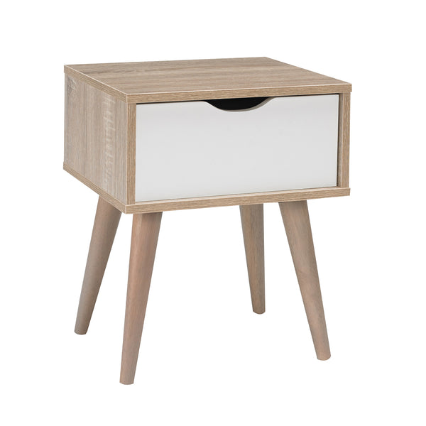 Scandi side table with drawer-glenwood furnishings