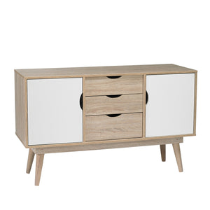 Scandi Sideboard doors and drawers closed-glenwood furnishings