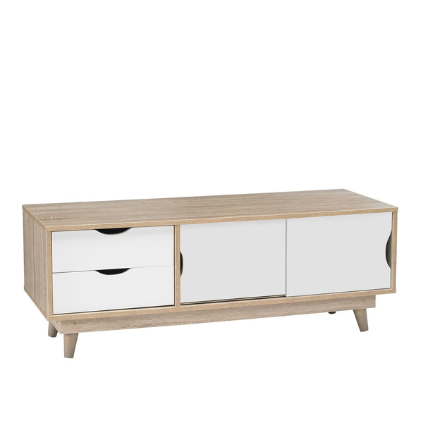 Scandi low TV unit-glenwood furnishings