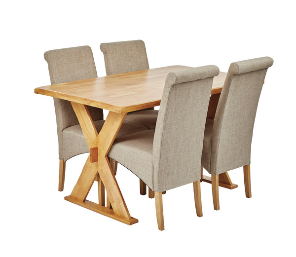 Table & four Amelia chairs