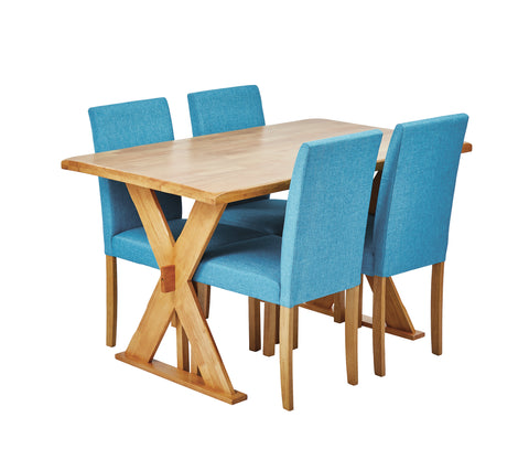 Table & four Anna chairs