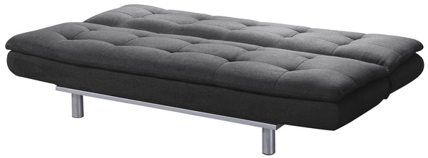 Sweden Sofa bed open charcoal- glenwood-furnishings