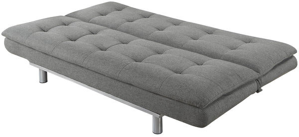 Sweden Sofa bed grey open- glenwood-furnishings