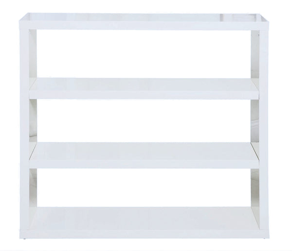 Puro white bookcase