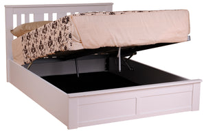 Coliseum Wooden ottoman bed open - glenwood-furnishings