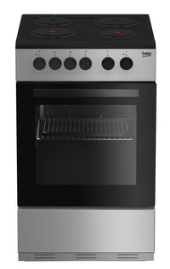 Beko KS530W 50cm Single Oven Electric Cooker - White or Silver