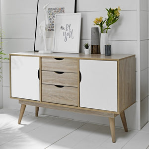 Scandi Oak 2 Door Sideboard