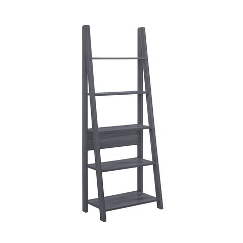 Tiva Ladder Bookcase (available in Oak, White & Black)