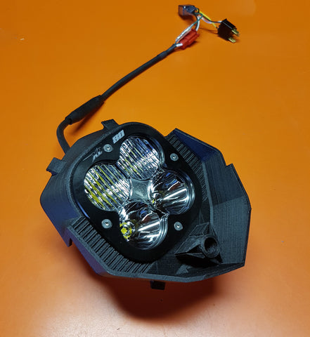 ErzBURGER - Headlight DIY Kit - for KTM 950 SE and 950 SM