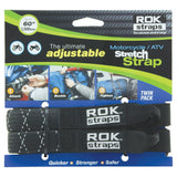 "ROK Adjustable Stretch Straps - Heavy Duty - 1"" x 60"""