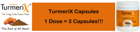 TurmeriX Dosage How To Take Turmeric