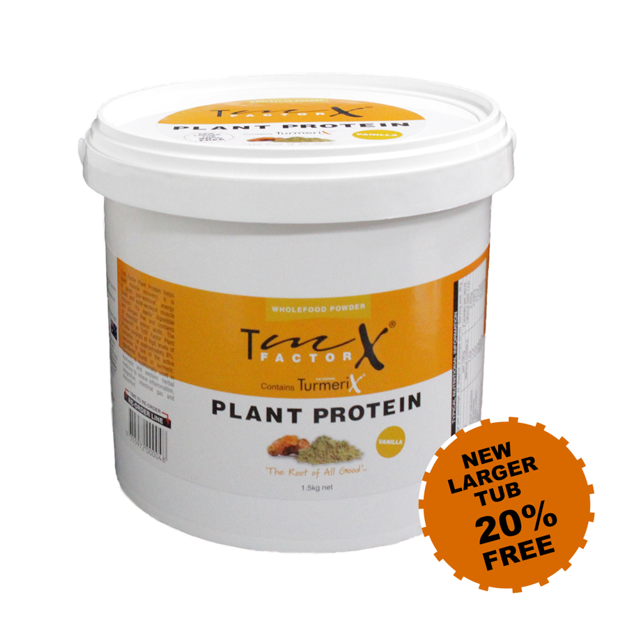 FREE GIFT - full-sized TmX Factor Chai OR TmX Factor Plant Protein (one gift per customer)