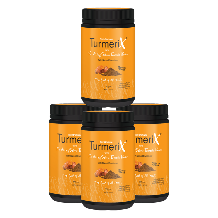 4x TurmeriX Powder 360g Tub (save $19.85)