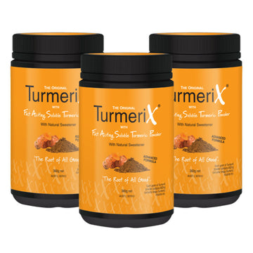 3x TurmeriX 360gm Tubs (save $45)