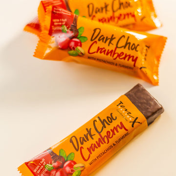 TmX Factor Dark Choc Cranberry Energy Bar - Buy 5 Get 1 FREE