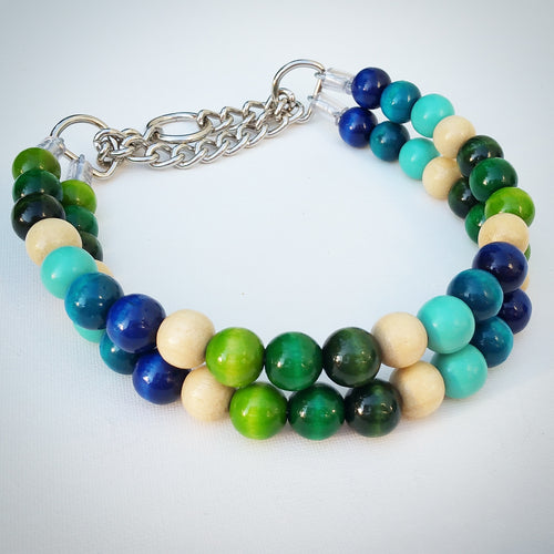 Hawaiian Beach Bead Collar