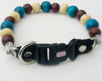 Funky Turquoise Bead Collar