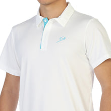 Load image into Gallery viewer, STORYi Polo Golf Shirt - White