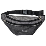 STORYi Travel Fanny pack - BLACK & GREY