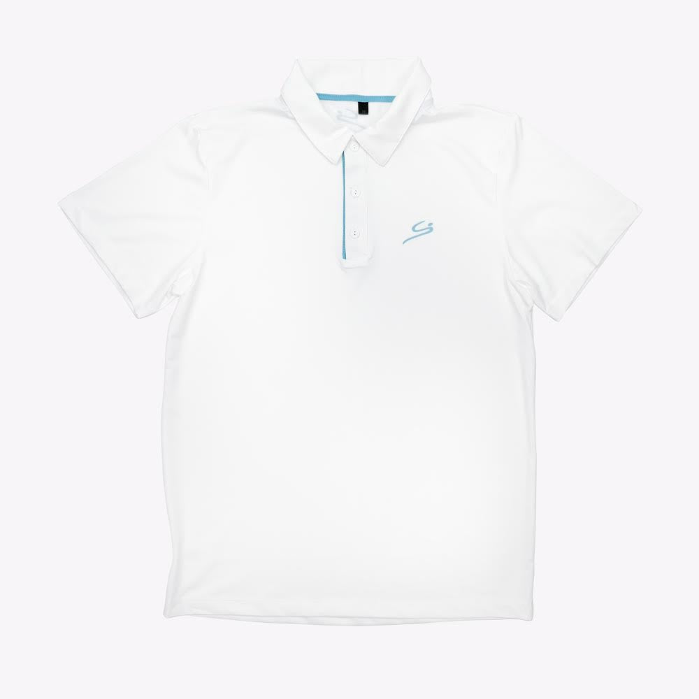 STORYi Polo Golf Shirt - White