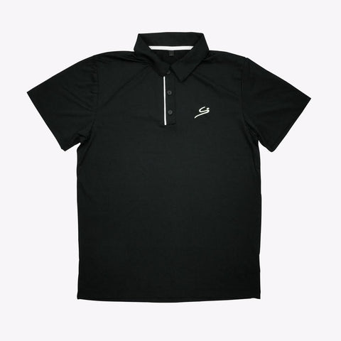Golf Polo Shirts (Black)